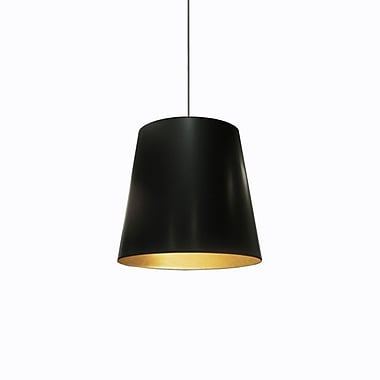 Dainolite – Luminaire suspendu  1 ampoule 16 x 20 x 20 po avec