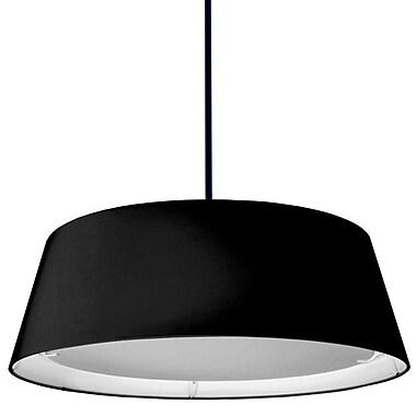 Dainolite – Lampe conique DEL 22 W, 8 x 24 x 24, noir (TDLED-24LP-BK)
