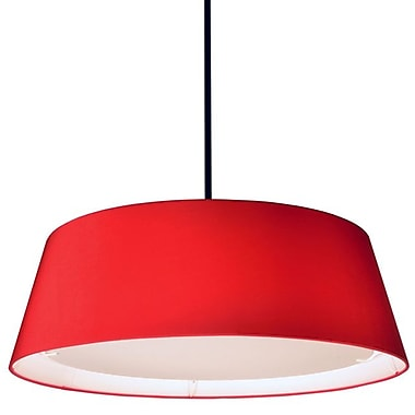 Dainolite – Lampe conique DEL 22 W, 8 x 24 x 24, rouge (TDLED-24LP-RD)