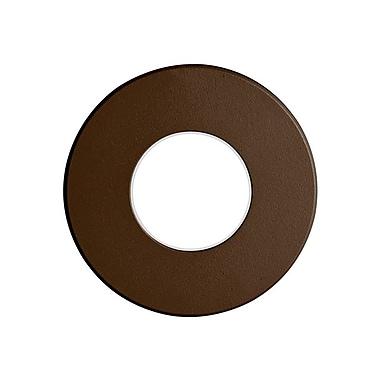 Dainolite Roundin Outdoor 3w LED Wall L 3.65 x 3.46 x 3.46 in Bronze (DLEDW-310-BZ)