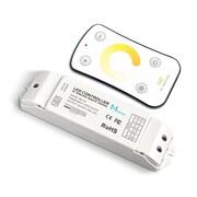 Dainolite ? Télécommande ajustable de température de couleur, 1 x 5 x 1,5 po, blanc (CB-CCT)