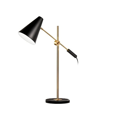 Dainolite 1LT Adjustable Table Lamp 27 x 23 x 23