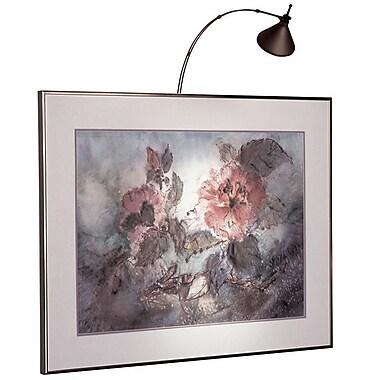 Dainolite – Lampe pour tableau câblée de 18 po, halogène, 18 x 3 x 3 po, bronze huilé brossé (HPIC18-HW-OBB)