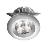 Dainolite 24v Dc 8w LED Cabinet Light 1.97 x 2.37 x 2.76 in Anodized Aluminum (MP-LED-8-AL)