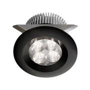 Dainolite 24v Dc 8w LED Cabinet Light 1.97 x 2.37 x 2.76 in Black (MP-LED-8-BK)