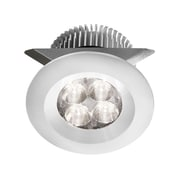 Dainolite 24v Dc 8w LED Cabinet Light 1.97 x 2.37 x 2.76 in White (MP-LED-8-WH)