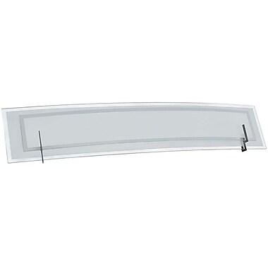 Dainolite – Luminaire de salle de bain, 4 ampoules, 6,5 x 38 x 5,5 po, chrome satiné (V034-4W-SC)