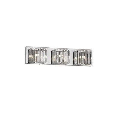 Dainolite – Luminaire de salle de bain, 3 ampoules, 4,5 x 19 x 3, transparent (V1600-3W-PC)