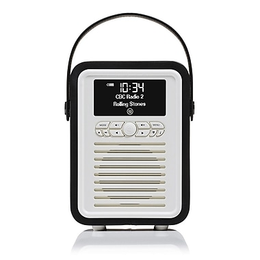 New Dawn Innovations ? Mini radio rétro DAB+, haut-parleur Bluetooth