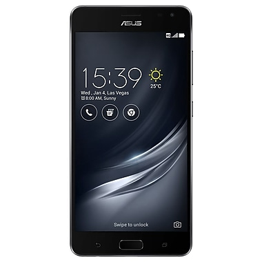 "ASUS MSM8996 Pro Zenfone AR 5.7"" Unlocked Smartphone, 64GB, Black (ZS571KL-S821-6G64G-BK)"