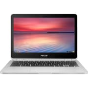 "ASUS Chromebook Flip C302CA-E91T-CB 12.5"" Chromebook, 1.5 GHz Intel Pentium 4405Y, 32 GB eMMC, 4 GB LPDDR3, Chrome OS"