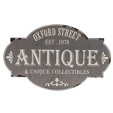 Ophelia & Co. Oxford Street Antique Sign Wall Decor