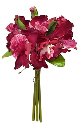Willa Arlo Interiors Orchid Bouquet; Burgundy