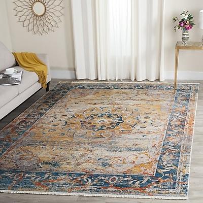 Mistana Marigold Oriental Area Rug; 5' x 7'6''