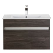 Cutler Kitchen & Bath Ivory Floating 30'' Single Bathroom Vanity
