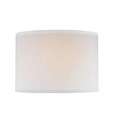 Willa Arlo Interiors Nylon Drum Lamp Shade; 12'' W x 14'' D x 10'' H
