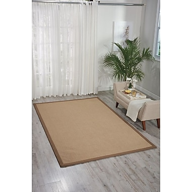 Darby Home Co Heckler Hand-Tufted Brown Area Rug; 8' x 10'
