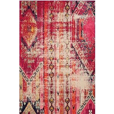 Mistana Elston Tibetan Pink Area Rug; 5'1'' x 7'7''
