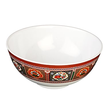 Bloomsbury Market Hendricks 56 oz. Melamine Rice Bowl (Set of 12)