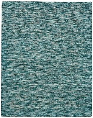 Breakwater Bay Isabela Hand-Tufted Teal Area Rug