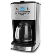 Black & Decker 12-Cup Tea and Coffee Maker; Silver