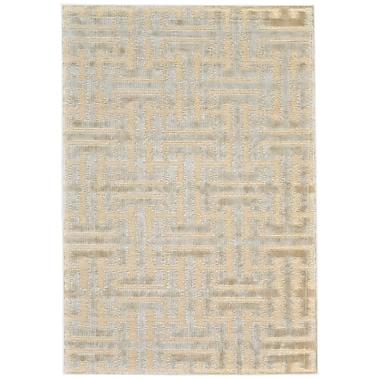 Willa Arlo Interiors Adkins Cream/Ecru Area Rug; 9'8'' x 12'7''