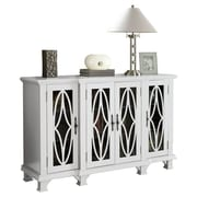Willa Arlo Interiors Hackmore 4 Door Cabinet; White