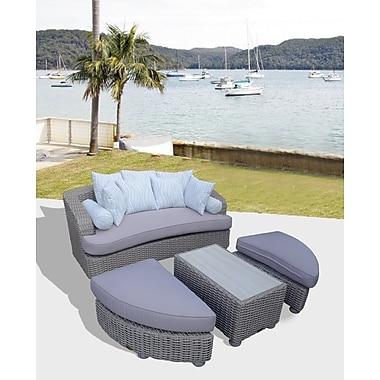 Bayou Breeze Gaia Tuscan Daybed w/ Cushions