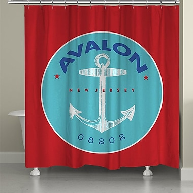 LauralHome Avalon Shower Curtain
