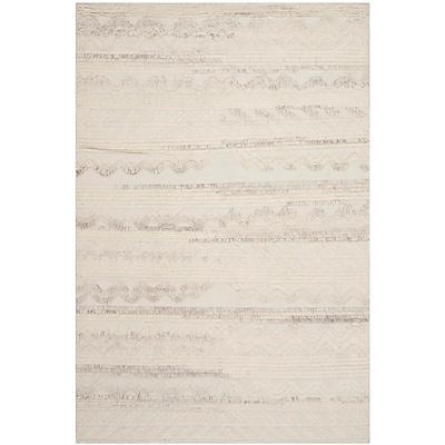 Mistana Maffei Ivory Area Rug; 6' x 9'