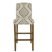Bungalow Rose Hazel Curved Back 30.5'' Bar Stool