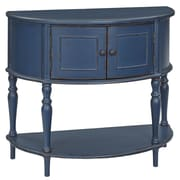 Bungalow Rose Evangelina Demilune Console Table