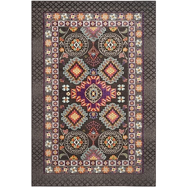 Mistana Elston Brown Area Rug; 5'1'' x 7'7''