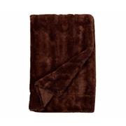 Willa Arlo Interiors Florencio Embossed Throw Blanket; Brown