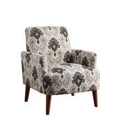 Bungalow Rose Eugenia Contemporary wood Arm Chair