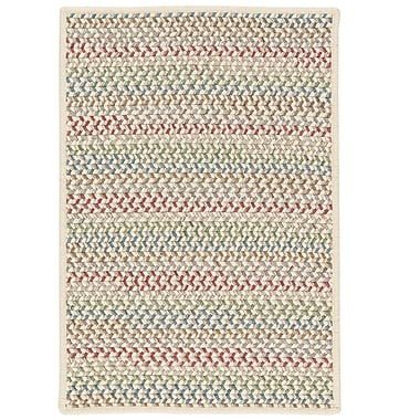 Highland Dunes Arvie Hand-Woven Red/Green Area Rug; 2' x 3'