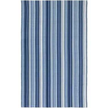 Highland Dunes Artique Hand-Woven Blue Area Rug; 3' x 5'