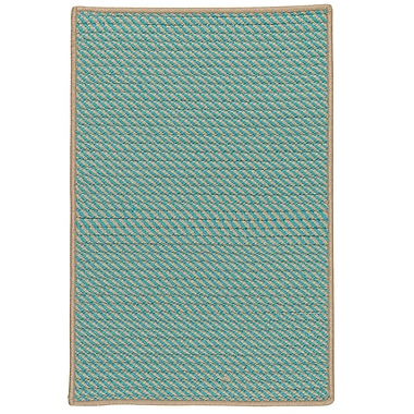 Bay Isle Home Mammari Hand-Woven Blue Indoor/Outdoor Area Rug; 7' x 9'