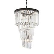 Willa Arlo Interiors Springfield 6-Light Crystal Chandelier; 60W Incandescent