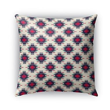 Bungalow Rose Gilma Indoor/Outdoor Throw Pillow; 16'' x 16''