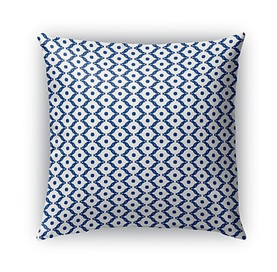 Bungalow Rose Ginnie Indoor/Outdoor Throw Pillow; 18'' x 18''