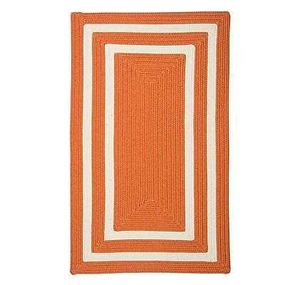 Bay Isle Home Marti Hand-Woven Outdoor Orange Area Rug; 10' x 13'
