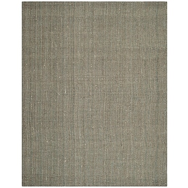 Highland Dunes Calidia Hand-Loomed Gray Area Rug; Rectangle 9' x 12'
