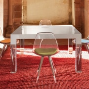 Orren Ellis Kiersten Dining Table; Matt White