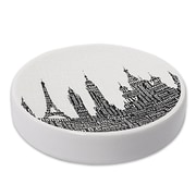 Ivy Bronx Elianna Silhouette City Resin Soap Dish