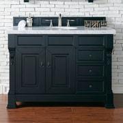 James Martin Furniture Brookfield 48'' Single Bathroom Vanity Base; Antique Black