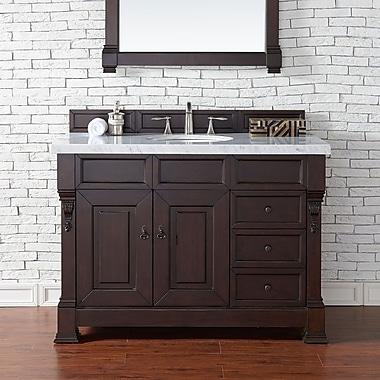 James Martin Furniture Brookfield 48'' Single Bathroom Vanity Base; Burnished Mahogany