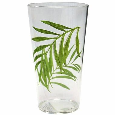 Corelle Coordinates 19 oz. Drinkware Set w/ Bamboo Leaf Design
