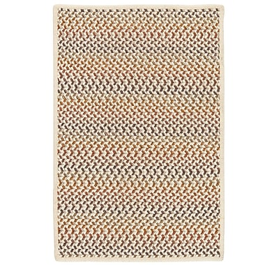 Highland Dunes Arvie Hand-Woven Natural Wool Area Rug; 10' x 13'