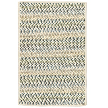 Highland Dunes Arvie Hand-Woven Natural Area Rug; Square 6'
